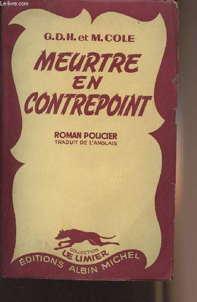Meurtre en contrepoint - collection