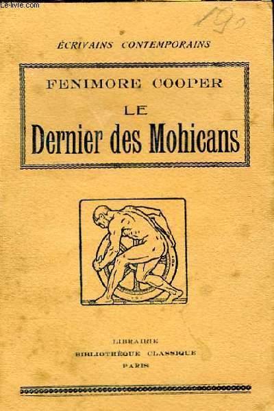 LE DERNIER DES MOHICANS - ABREGE DE L'ANGLAIS