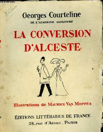 LA CONVERSATION D'ALCESTE