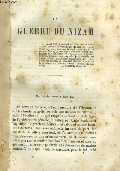 LA GUERRE DU NIZAM
