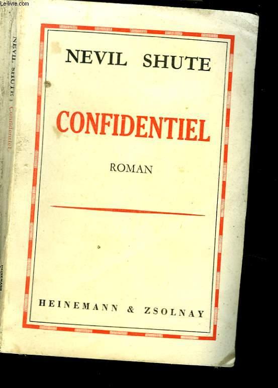 CONFIDENTIEL. ROMAN