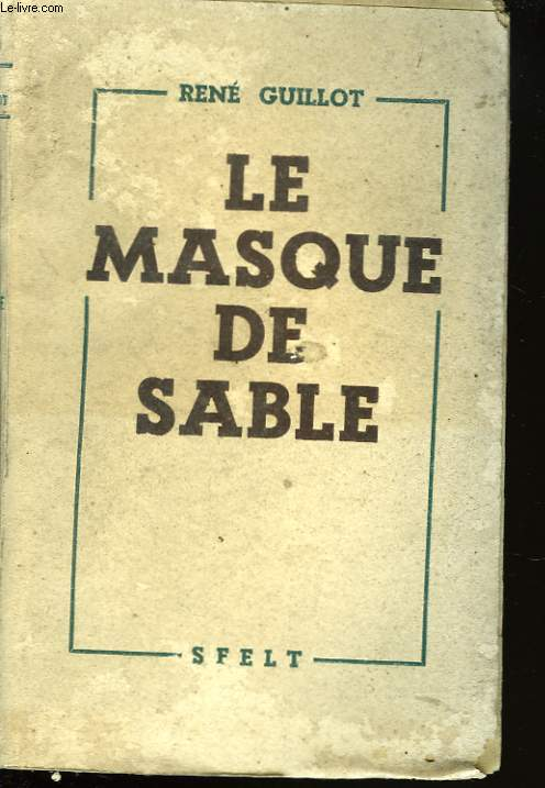LE MASQUE DE SABLE