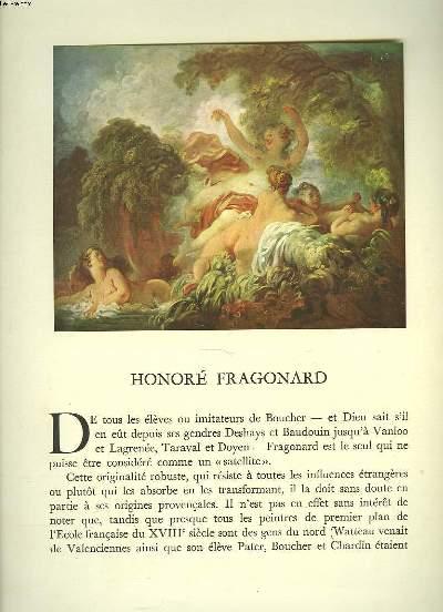 FRAGONARD. XVIIIe SIECLE.