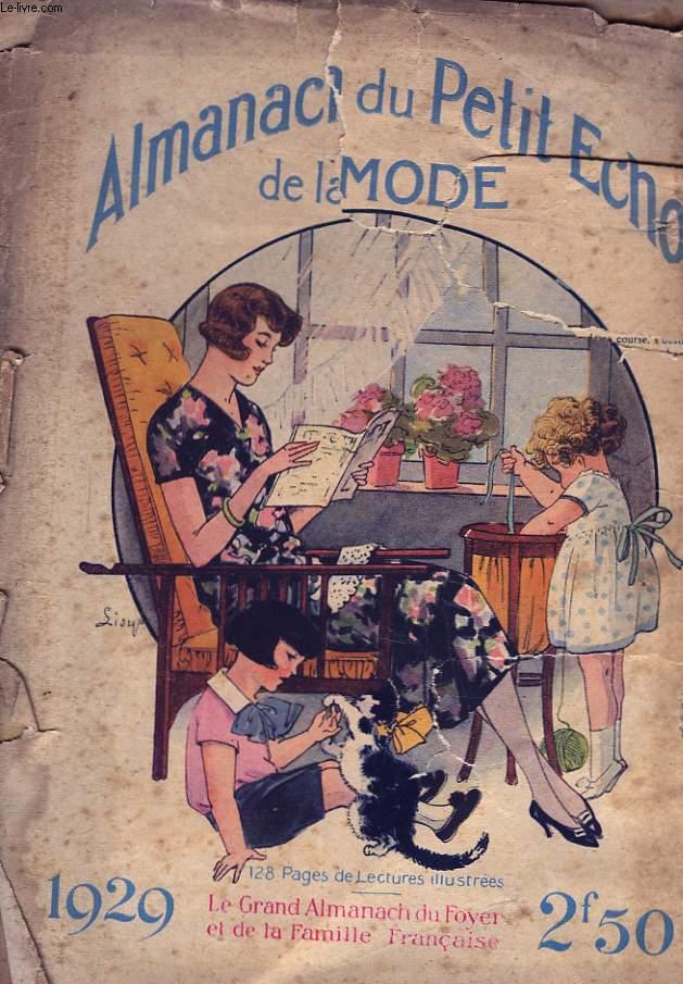 Grand Foyer Et Petit Foyer : Almanach du petit echo de la mode le grand