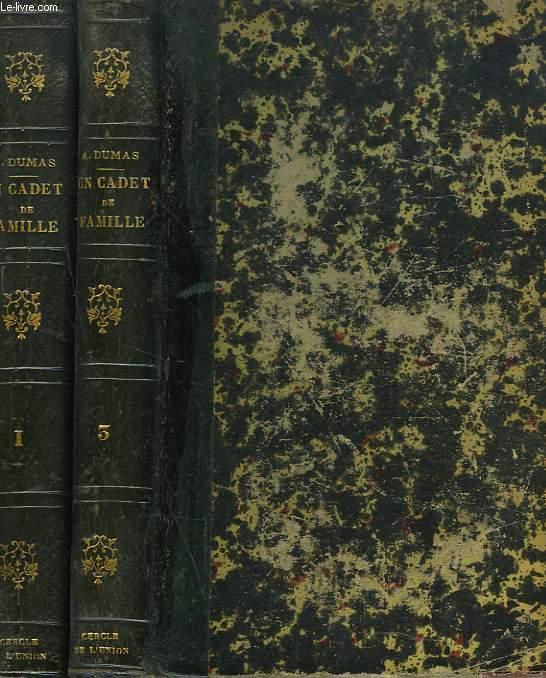 CADET DE FAMILLE tomes 1 et 3, manque le tome 2.
