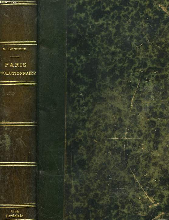 PARIS REVOLUTIONNAIRE.