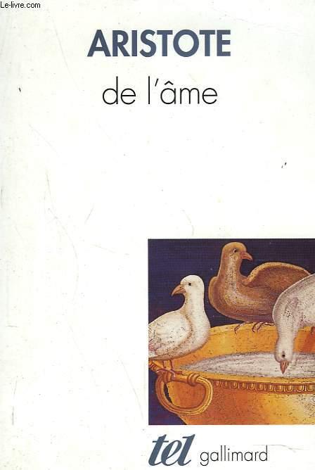 DE L'ÂME