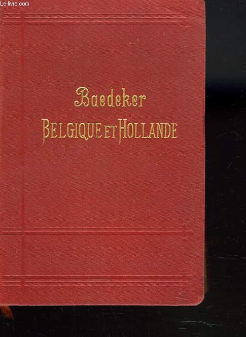 BELGIQUE ET HOLLANDE YCOMPRIS LE LUXEMBOURG. MANUEL DU VOYAGEUR