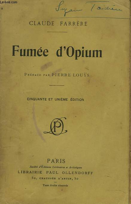 FUMEE D'OPIUM