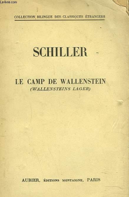 LECAMP DE WALLENSTEIN. (WALLENSTEINS LAGER)