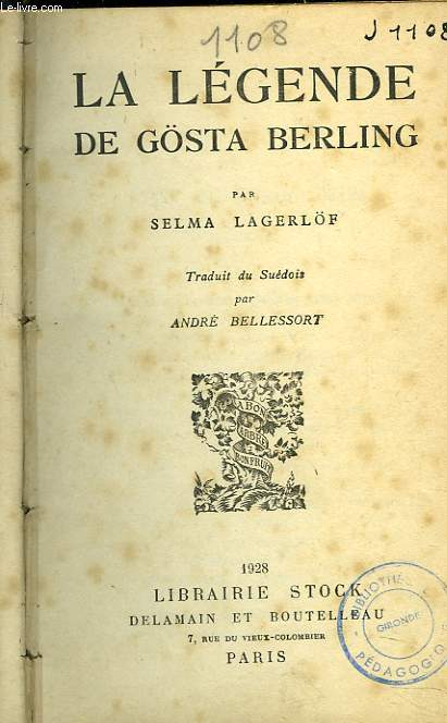 LA LEGENDE DE GÖSTA BERLING
