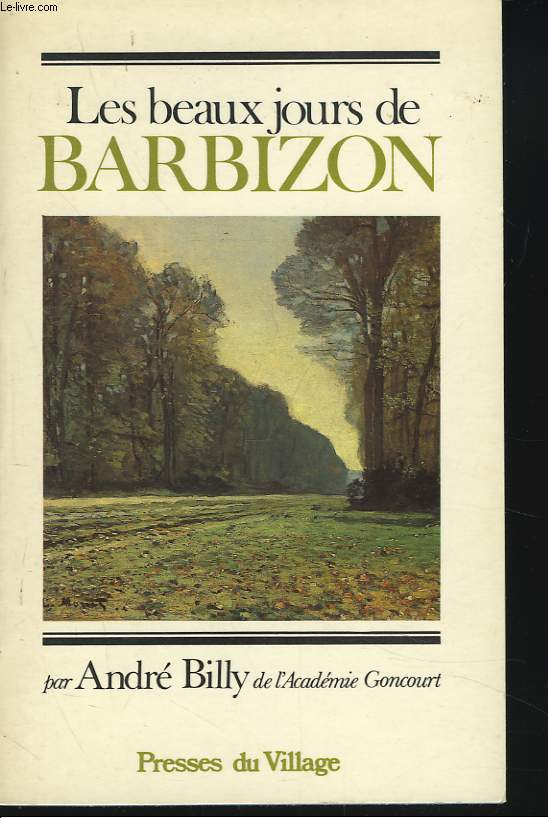 LES BEAUX JOURS DE BARBIZON
