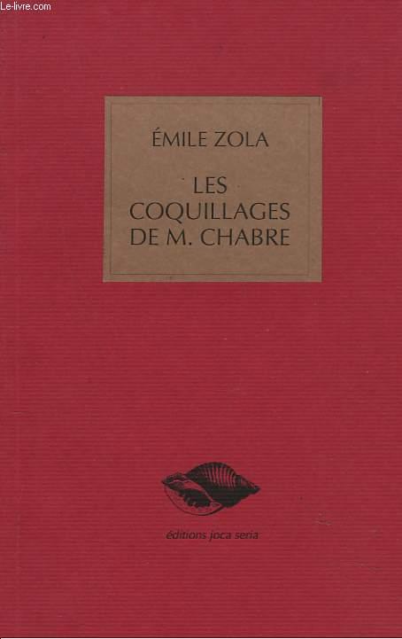 LES COQUILLAGES DE M. CHABRE