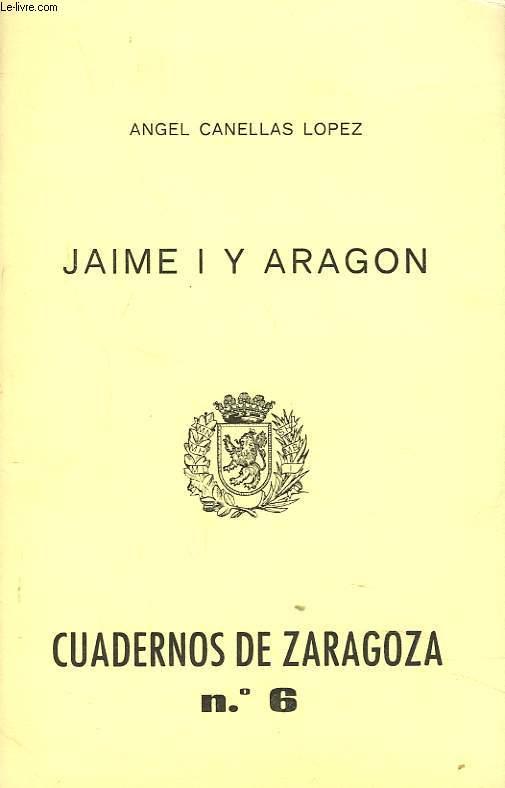 CUADERNOS DE ZARAGOZA N°6, 1975. JAIME I Y ARAGON.