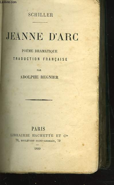 JEANNE D'ARC. POEME DRAMATIQUE