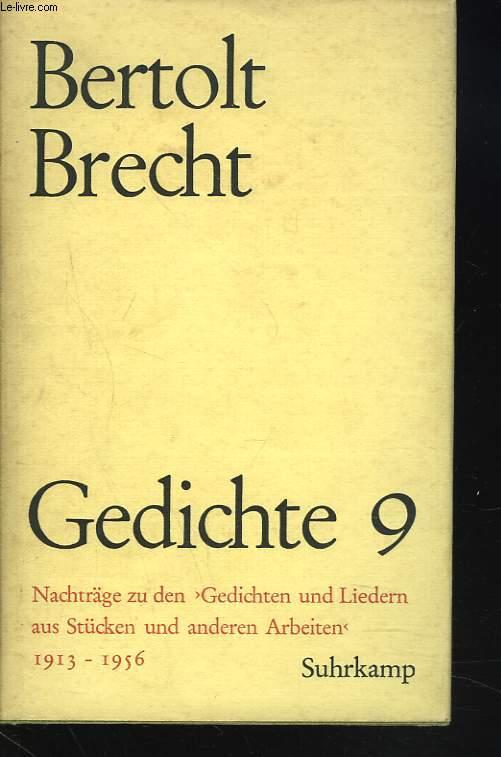 GEDICHTE 9.