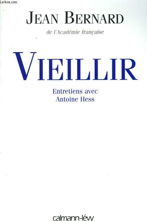 VIEILLIR. ENTRETIEN AVEC ANTOINE HESS