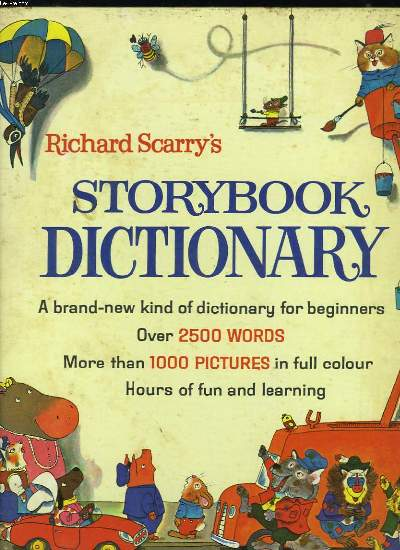 STORYBOOK DICTIONARY.