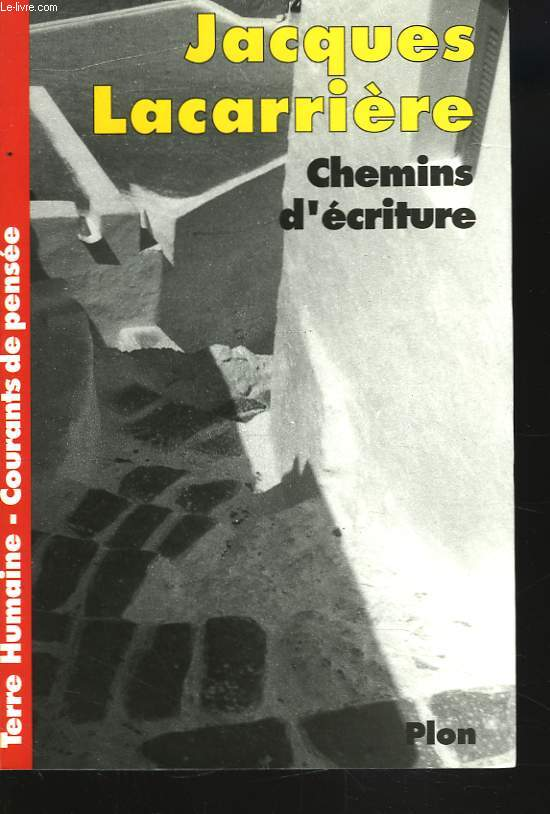 CHEMINS D'ECRITURE
