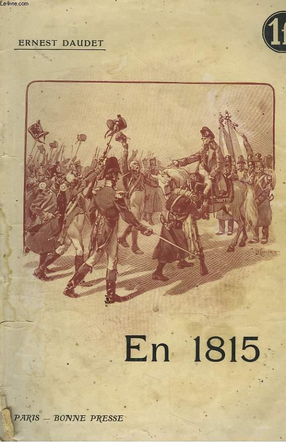 EN 1815. RECITS D'UNE GRAND'MERE.