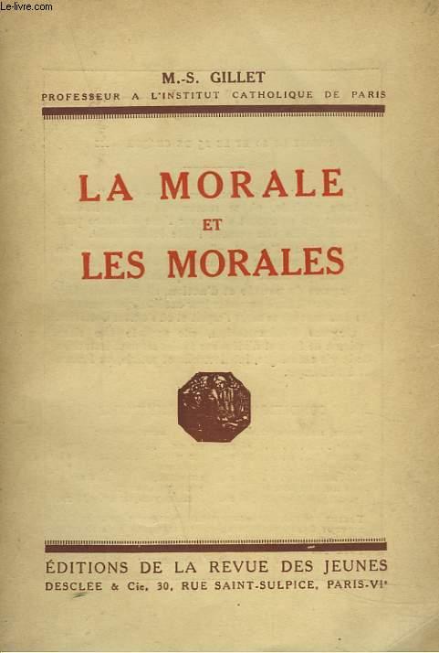 LA MORALE ET LES MORALES