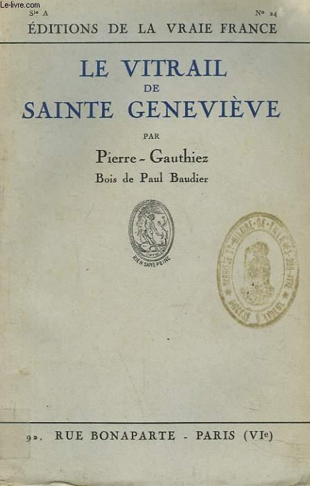 LE VITRAIL DE SAINTE GENEVIEVE