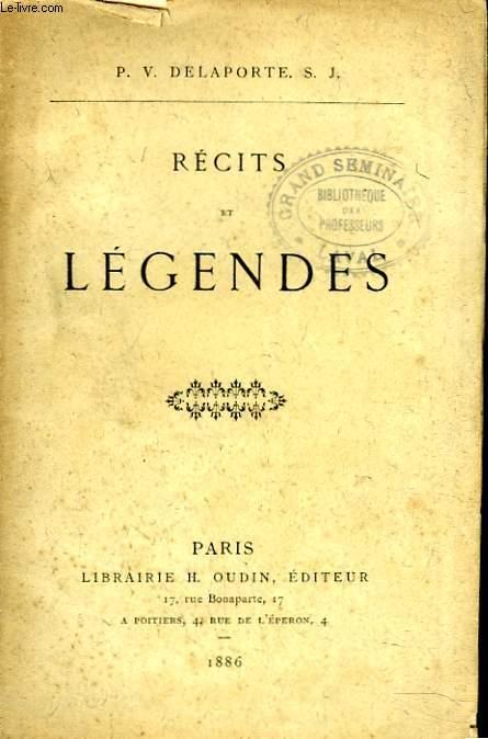 RECITS ET LEGENDES. + ENVOI DE L'AUTEUR.