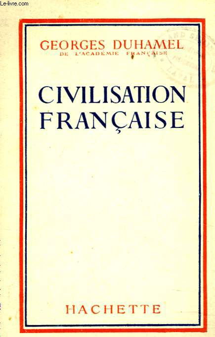 CIVILISATION FRANCAISE