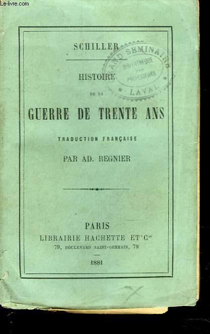 HISTOIRE DE LA GUERRE DE TRENTE ANS