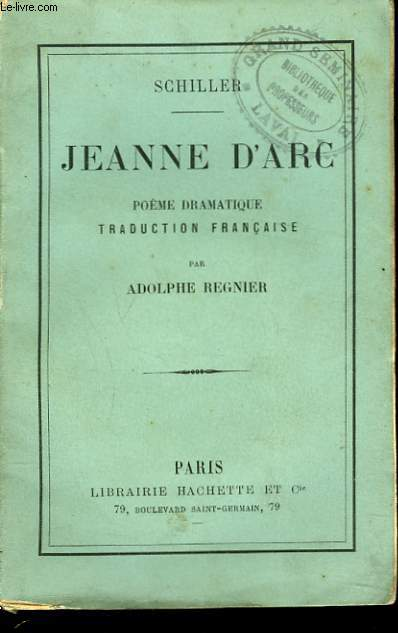 JEANNE D'ARC. POEME DRAMATIQUE.