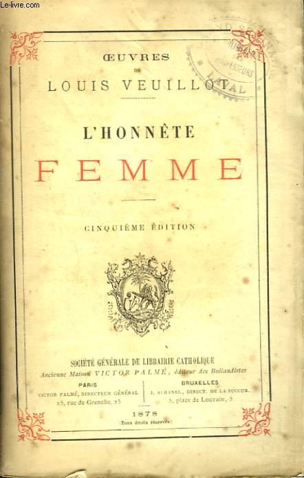 L'HONNETE FEMME