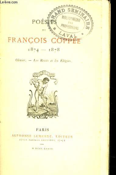 POESIES. 1874-1878.