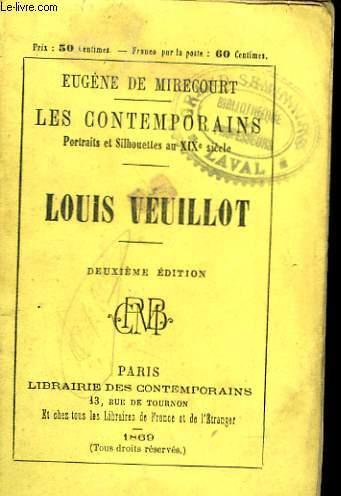 PORTRAITS ET SILHOUETTES AU XIXe SIECLE. LOUIS VEUILLOT