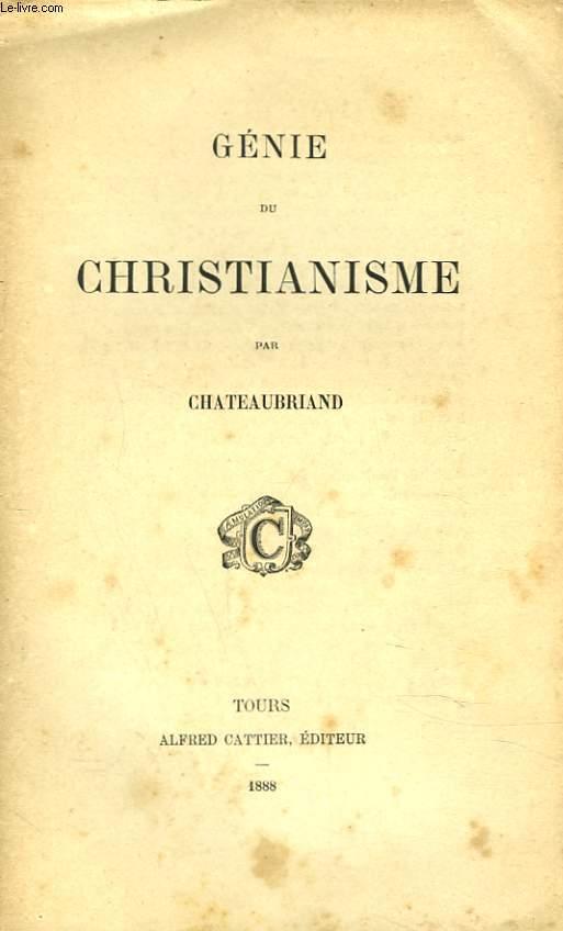 GENIE DU CHRISTIANNISME