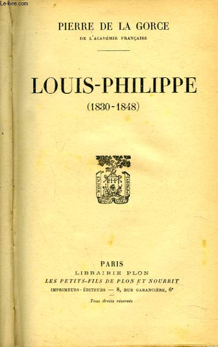 LOUIS-PHILIPPE (1830-1848)