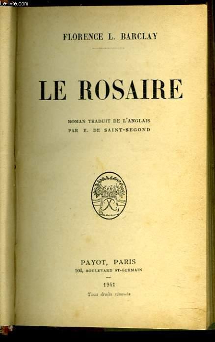 LE ROSAIRE.