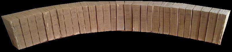 OEUVRES COMPLETES. TOMES I à XXX. REPRODUCTION TEXTUELLE DE L'EDITION DE 1815-1820 DE A. LEBEL, IMPRIMEUR DU ROI A VERSAILLES AUGMENTEE DE L'HISTOIRE DE BOSSUET PAR LE CARDINAL DE BAUSSET.