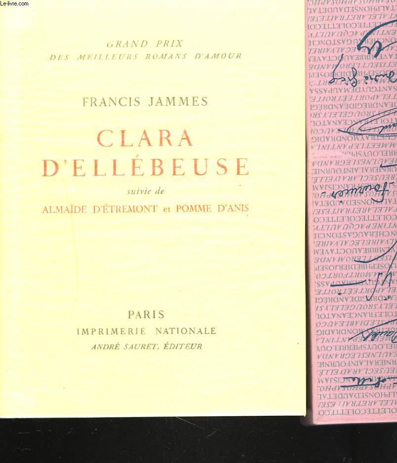 CLARA D'ELLEBEUSE suivie de ALMAÏDE D'ETREMONT et POMME D'ANIS.