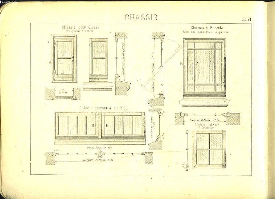 Les cahiers de l apprenti menuisier en b timent 2e cahier for Technique de construction batiment