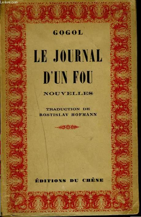 LE JOURNAL D'UN FOU + ENVOI DU TRADUCTEUR.