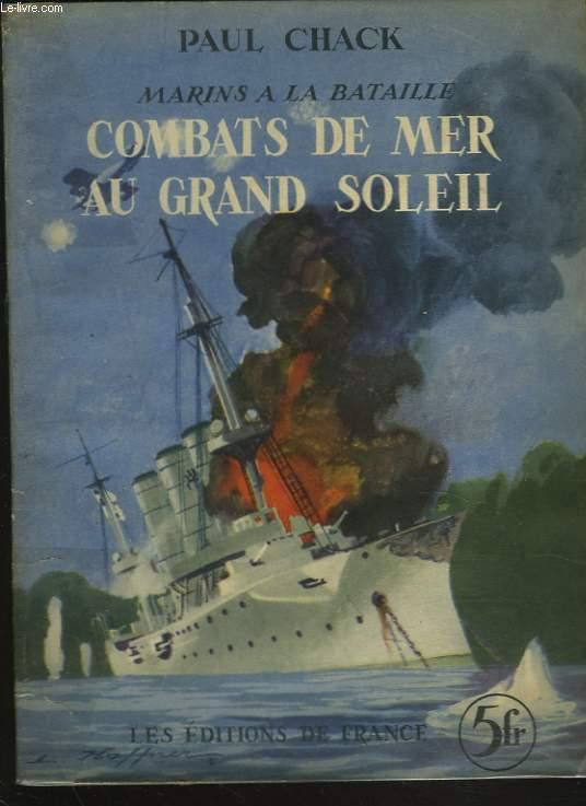 COMBATS DE MER AU GRAND SOLEIL.
