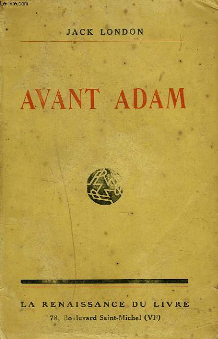 AVANT ADAM (REMINISCENCES).