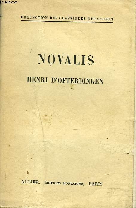 HENRI D'OFTERDINGEN. (Heinrich von Ofterdingen).