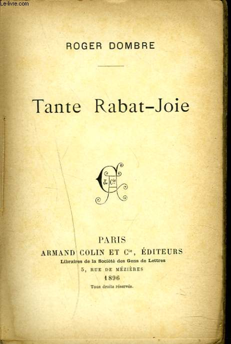 TANTE RABAT-JOIE.