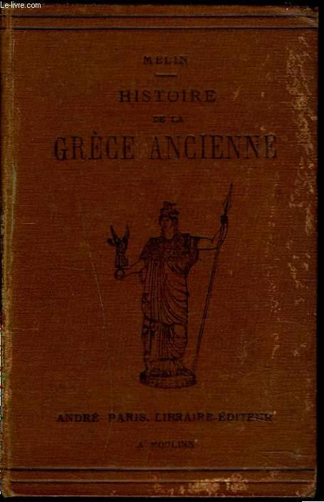 HISTOIRE DE LA GRECE ANCIENNE