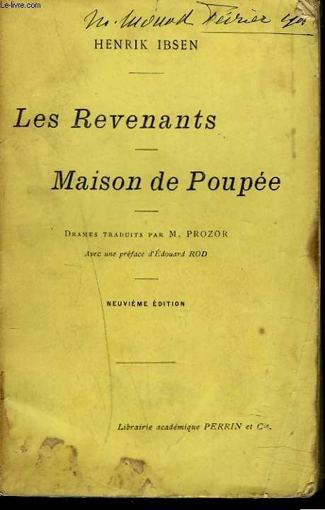 LES REVENANTS. MAISON DE POUPEE.