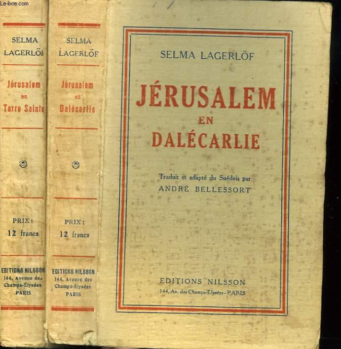 JERUSALEM EN DALECARLIE + JERUSALEM EN TERRE SAINTE.