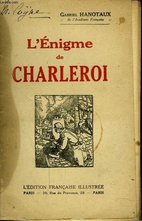 L'ENIGME DE CHARLEROI