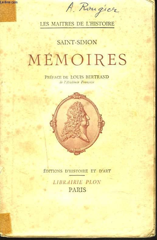 Anecdotes, scènes et portraits extraits des MEMOIRES.