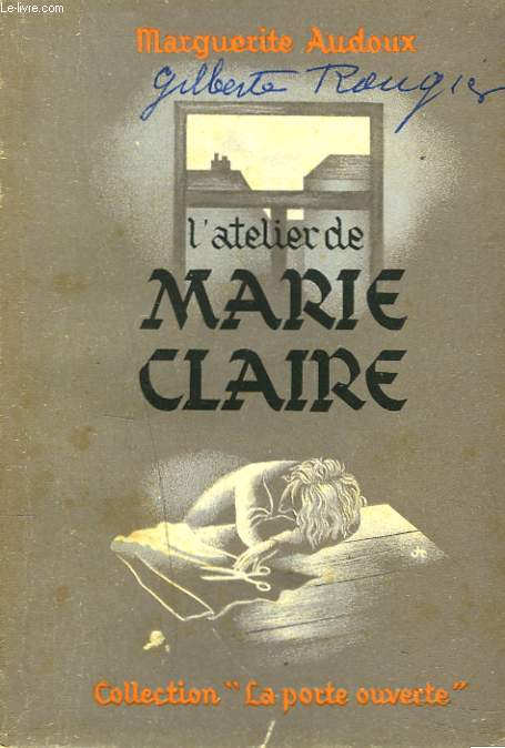 L'ATELIER DE MARIE-CLAIRE.